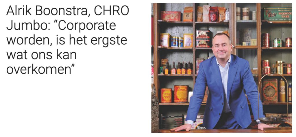 Interview met Jumbo-CHRO Alrik Boonstra